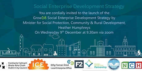 Launch of the D8 Social Enterprise Strategy and Survey tickets