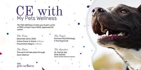 Free Dentistry RACE CE Presented by My Pets Wellness tickets