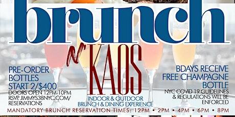 Brunch N Kaos, 2hr open bar Brunch & Dining w/ Live DJ tickets