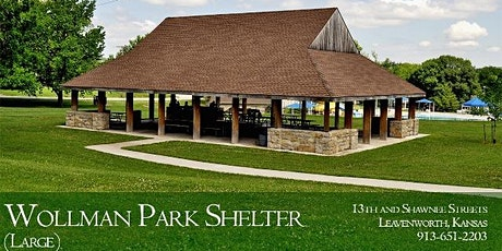 Park Shelter at Wollman Main - Dates in July-September 2021 tickets