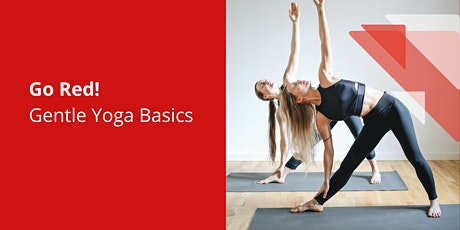 Go Red! Gentle Basic Yoga for Heart Health tickets