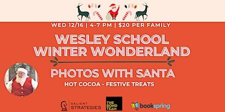 Wesley School Photos With Santa! tickets