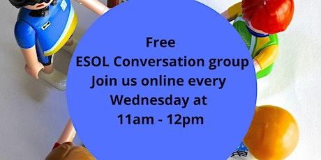 ESOL Conversation Group tickets