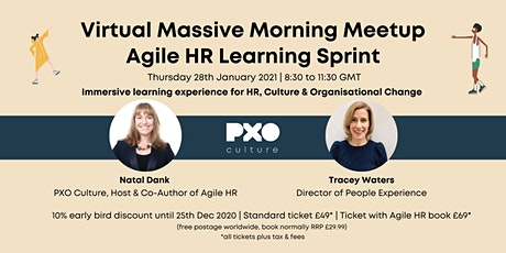 PXO & Agile HR Massive Morning Meetup tickets