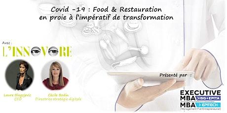 Covid-19 :  Food & Restauration en proie à l'impératif de transformation billets