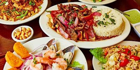 Peruvian and Ecuadorian food night tickets