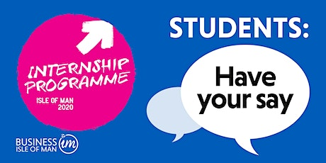 STUDENTS: Have your say tickets