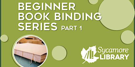 Homemade Holiday Gifts: Beginner Book Binding Series- Part 1 tickets