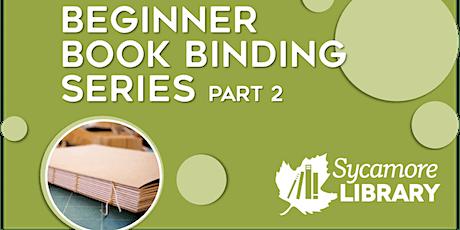 Homemade Holiday Gifts: Beginner Book Binding Series- Part 2 tickets