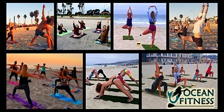 Wake Up and Flow Morning Beach Yoga (Donation-Based Class) tickets