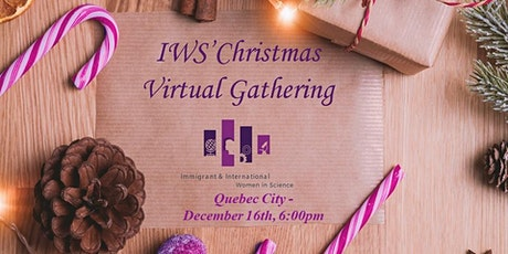 December virtual gathering- Quebec City tickets