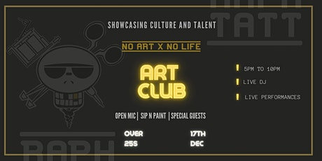 NO ART -  NO LIFE tickets