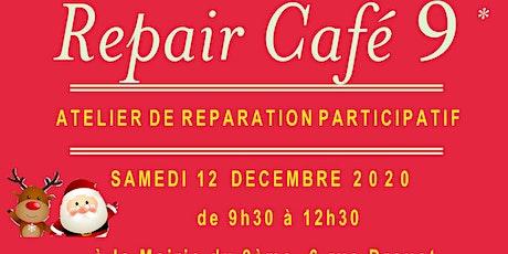 Repair Café 9 - Samedi 12 décembre billets