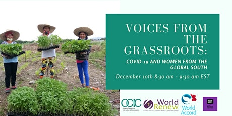 Voices From the Grassroots: COVID-19 and Women from the Global South tickets