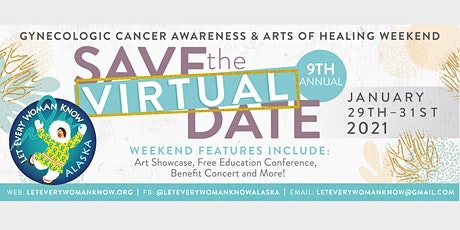 2021 Gynecologic Cancer Awareness & Arts of Healing Weekend tickets