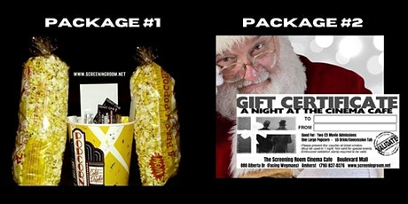 Screening Room Take-Out Packages   (Pick up on  Fri Dec 11) tickets