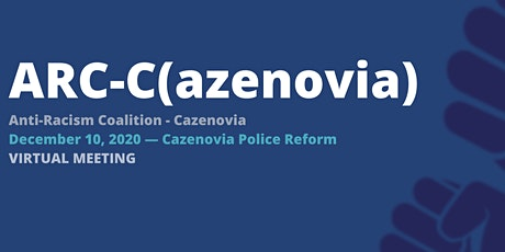 Anti-Racism Coalition of Cazenovia | December Meeting tickets