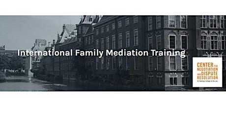 2021 International Cross-Border Family Mediation Training tickets