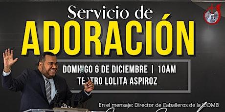 Servicio de Adoración entradas