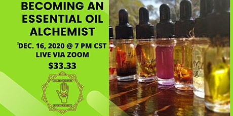 BECOMING AN ESSENTIAL OIL ALCHEMIST tickets