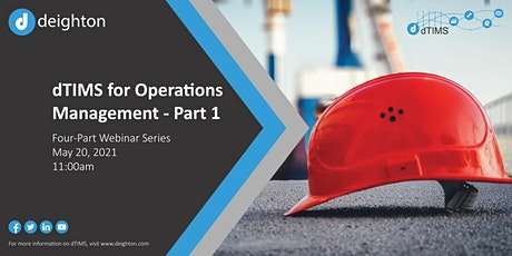 dTIMS for Operations Management - Part 1 biglietti