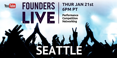 Founders Live Seattle Virtual Experience tickets