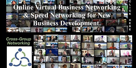Every new virtual networking event we host keep getting better and better t tickets