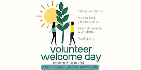 Volunteer Welcome Day 11:30-12 tickets