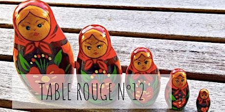 Table Rouge N°12 ✦ TransgénérationELLE billets