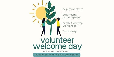 Volunteer Welcome Day 12:30-1:00pm tickets