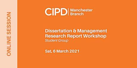 Dissertation & Management Research Report Workshop tickets