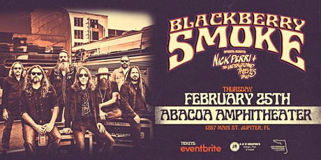 BLACKBERRY SMOKE - Jupiter tickets