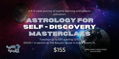 Astrology for Self-Discovery Masterclass tickets