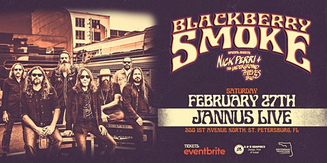 BLACKBERRY SMOKE - St. Pete tickets