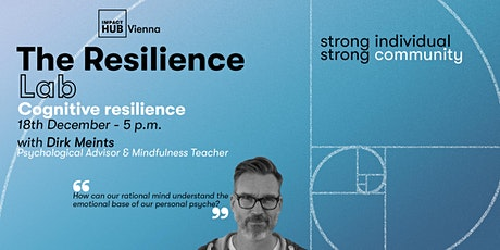 Resilience Lab: Build up your Cognitive Resilience tickets