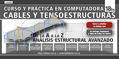 CURSO PRÁCTICO: Cables y membranas - Modelos y cálculo no lineal - ARS entradas