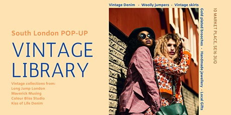 The Vintage Library's Pop Up Shop tickets