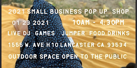 2021 small business pop up shop tickets