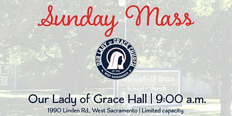 Sunday 9am Celebration of Mass (Online w/ in-person Communion) tickets
