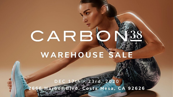 Carbon38 Warehouse Sale - December 2020 - Costa Mesa, CA image