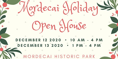 Mordecai Holiday Open House tickets