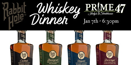 """""""Rabbit Hole"""" Whiskey Dinner at Prime 47 tickets"""