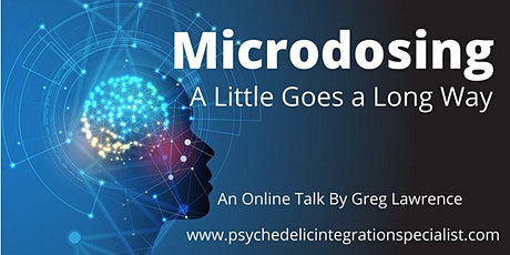 LIVESTREAM | Microdosing: A Little Goes a Long Way tickets