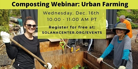 Urban Farming Composting Webinar tickets