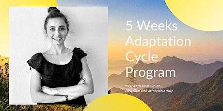 Go Zero Waste - 5 Weeks Adaptation Cycle Program tickets