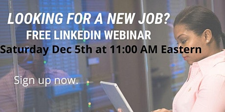 LinkedIn Crash Course for the Unemployed or Underemployed tickets