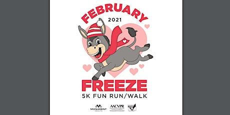 February Freeze 5k Fun Run/Walk Event tickets