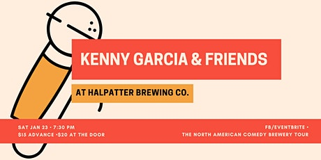 Kenny Garcia and Friends at Halpatter Brewing Company tickets