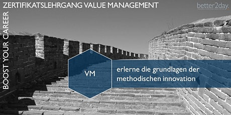 Zertifikatslehrgang Value Management - VM BASISMODUL Tickets