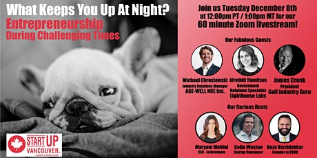 What Keeps You Up At Night? Entrepreneurship During Challenging Times Ep038 tickets